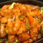 Hot Plate Chicken & Prawn