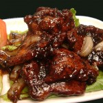 Black Pepper Pork Ribs